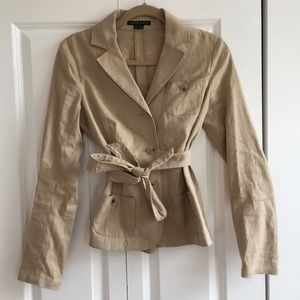 Theory Blazer/Short Trench Coat